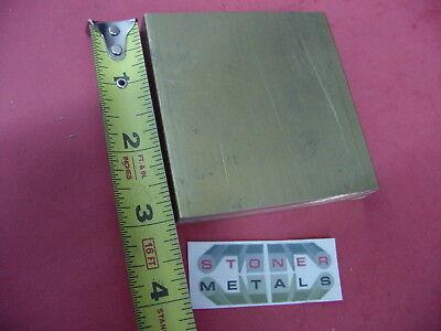 12 X 3 C360 Brass Flat Bar 3 Long Solid Plate Mill Stock H02 .50 X 3.0x 3