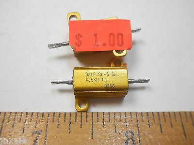 4.5k Ohm 5 Watt 1 Power Resistor Nosnew Old Stockqty 5 Eaf33
