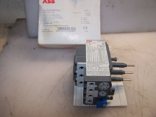 NEW ABB 4.5-6.5 AMP THERMAL OVERLOAD RELAY TA25DU-6.5