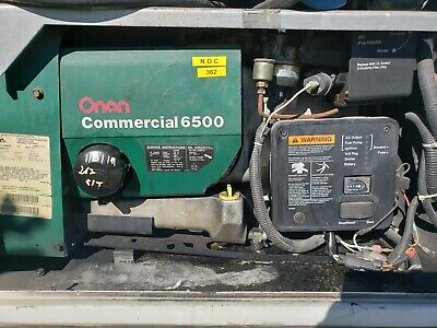 Onan Commercial 6500 Gasoline Generator Only 262 Hrs