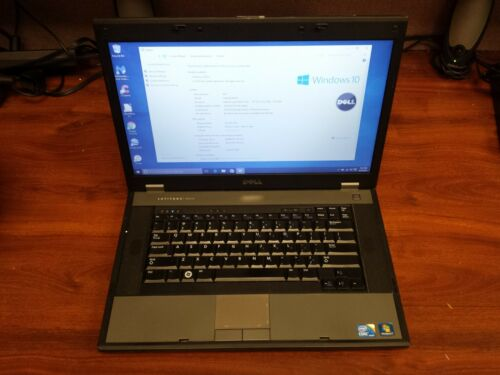 "Dell Latitude E5510 Core i3 2.5GHz/160GB/4GB/15.6"" LCD Screen/Windows 10 Laptop"