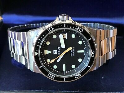 RARE VINTAGE BOXED TISSOT F1 PR 516 CALIBRE 2031 QUARTZ DIVERS MENS WATCH