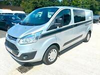 Ford Transit Custom 2.2TDCi ( 125PS ) Double Cab-in-Van 290 L1H1 Trend 64 Reg.