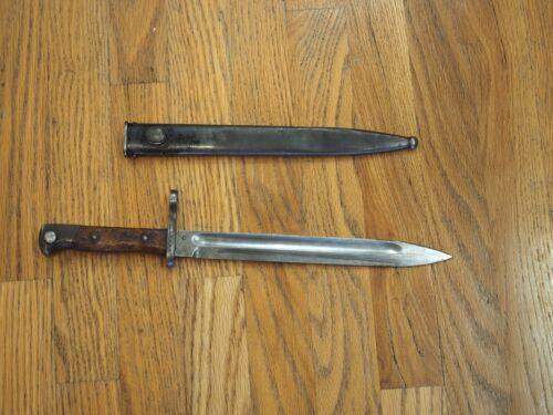 German Weyersberg Kirschbaum Co Solingen M1895 Bayonet & Scabbard nice