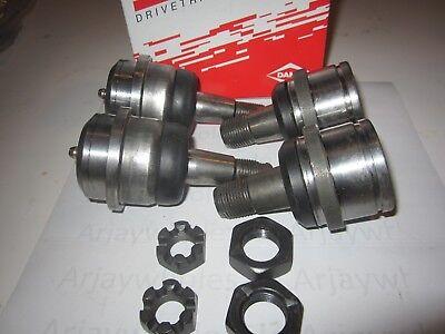 Spicer Dodge Ram 1500 4X4  94 - 99 Dana 44 Ball Joints 2 Upper 2 Lower OEM