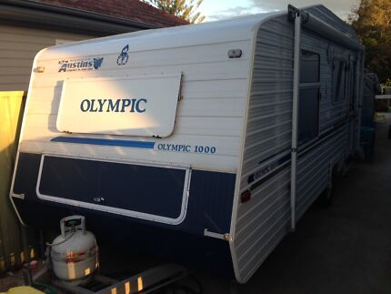 Olympic 1000 caravan 2004 Loftus Sutherland Area Preview