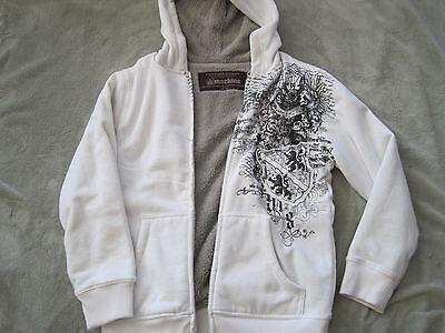 - NEW Boys Type Field Apparel Machine Hooded Sweatshirt Hoodie Zip Front XL