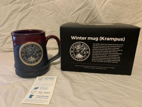 Death Wish Coffee Krampus Mug 1528/3666 with box