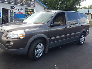 2008 Pontiac Montana SV6 extended good body certified