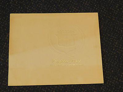 Cadillac 1980 Brochure