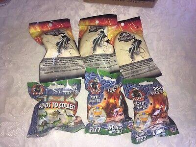 WOODEN PADDLEDINOSAUR BATS BIFF BAT /& RUBBER BALL PARTY BAG POCKET MONEY x 4