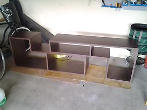 Entertainment unit lowline or storage shelves or room divider Lilydale Yarra Ranges Preview