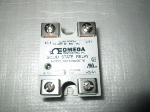 1 Piece SSRL660DC75 SOLID STATE RELAY 75A DC 75