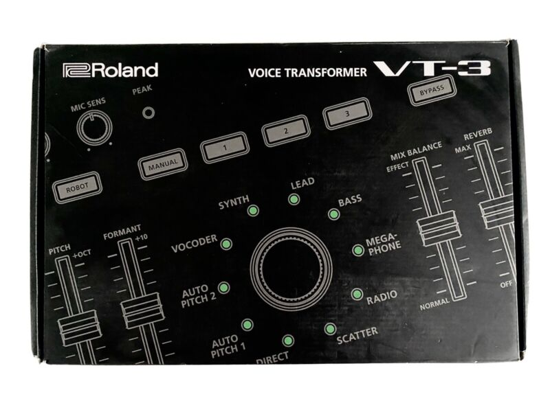 Roland Aira VT 3 Voice Transformer Boxed Fully Working Vt3 Vocal Fx 🎙