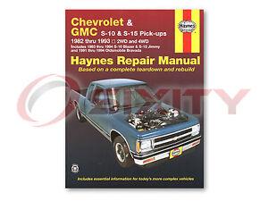Haynes Repair Manual - Mitsubishi Magna / Verada 1996-2005