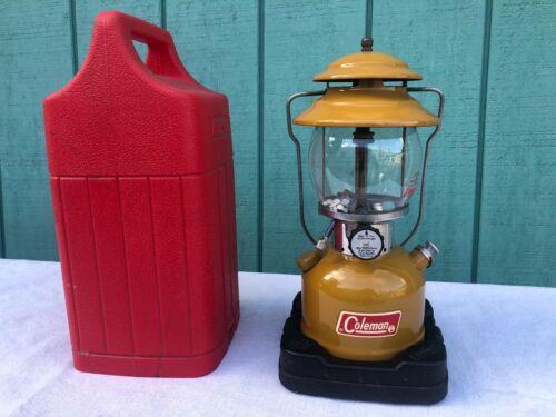 Vintage Coleman 200A Gold Bond Lantern Dated 72