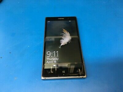 Nokia Lumia 830 - 16GB - White (AT&T) - RM-983 - WORKS GREAT!