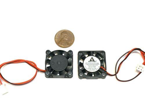 2 Pieces 5v Fan mini 25mm x 7mm 2pin 2507 dc mini micro brushless cooling A30