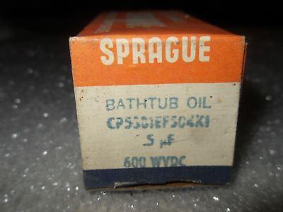 Y4-1 1 Sprague Cp53b1ef504k1 Bathtub Oil Capacitor