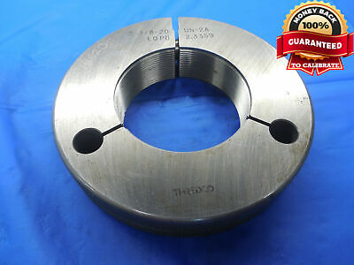 2 38 20 Un 2a Thread Ring Gage 2.375 No Go Only P.d. 2.3359 N-2a Quality