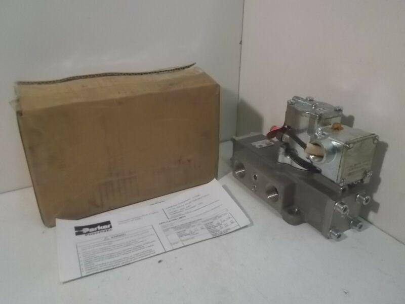 NIB Parker L6456Z10253 Pneumatic Valve