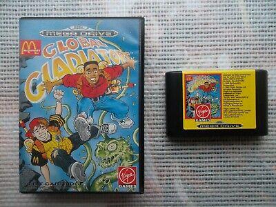 Jeu Megadrive / MD Game Global Gladiators + boite PAL SEGA genuine original*