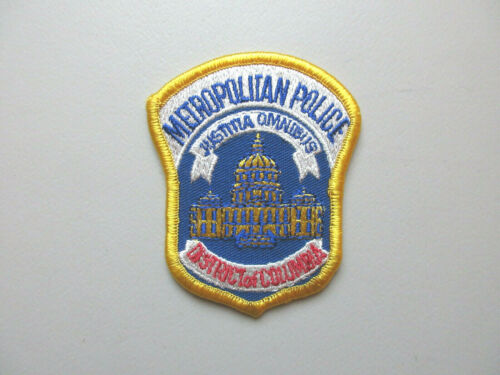 METROPOLITAN POLICE DISTRICT OF COLUMBIA WASHINGTON DC COLLECTIBLE PATCH