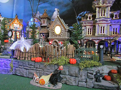 Multi Level HALLOWEEN Village DISPLAY platform base 28