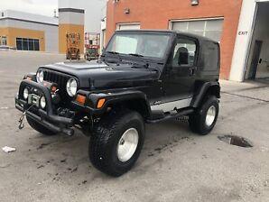 1997 Jeep TJ LOW KMS