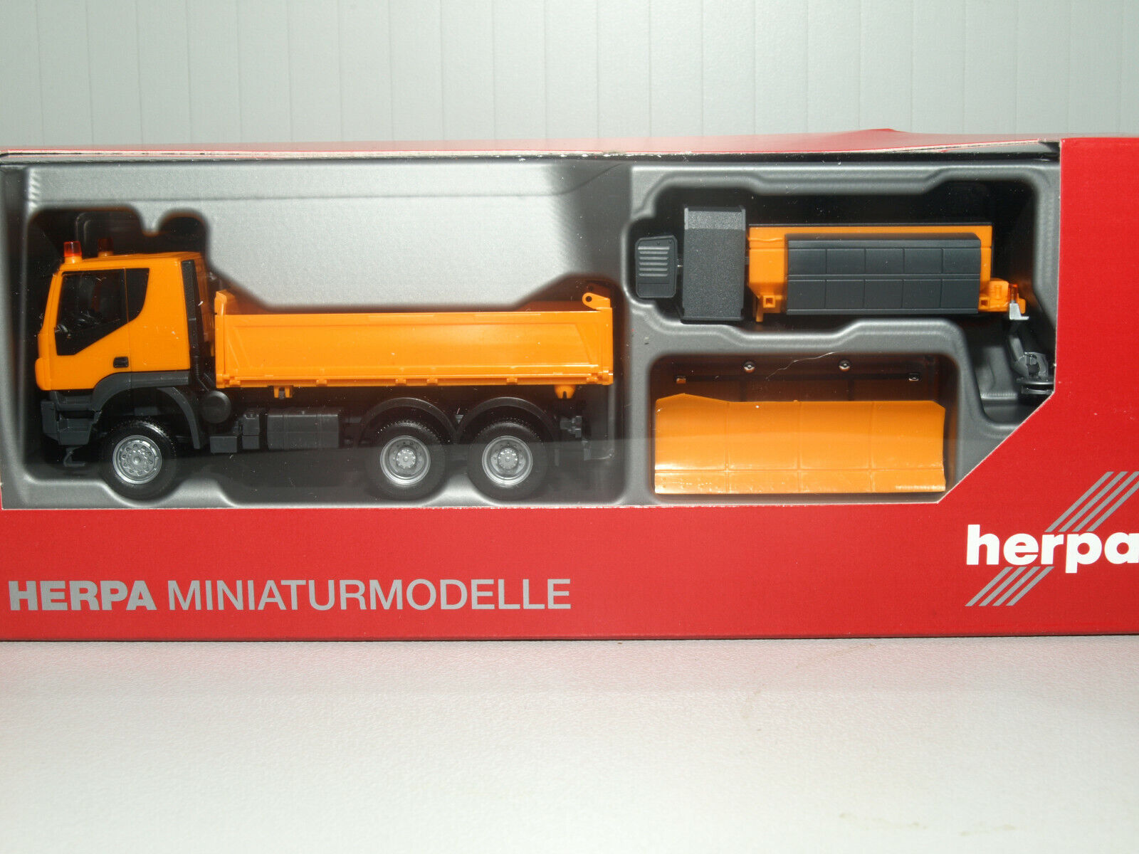 Herpa Iveco Trakker 6x6 Winterdienst 310727