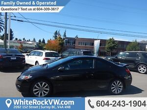2010 Honda Civic Si POWER MOONROOF, A/C,