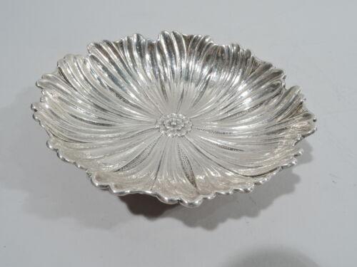 Buccellati Bowl - Figural Flower Blossom Dish - Italian Sterling Silver