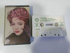 SARA-MONTIEL-MIS-MEJORES-CANCIONES-CINTA-TAPE-CASSETTE-ONDINA-1982-SPANISH-EDIT