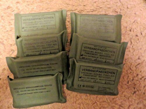 7 German Sealed Wound Bandages