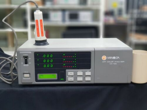 Minolta CA-100 CA100 CRT Color Analyzer with probe