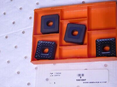 Hertel Carbide Turning Inserts Snmm856-r25 Grade-hc115t Qty-4 1001597