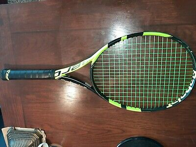 2018 BABOLAT Pure Aero  4 3/8! Museum Quality, New Strings