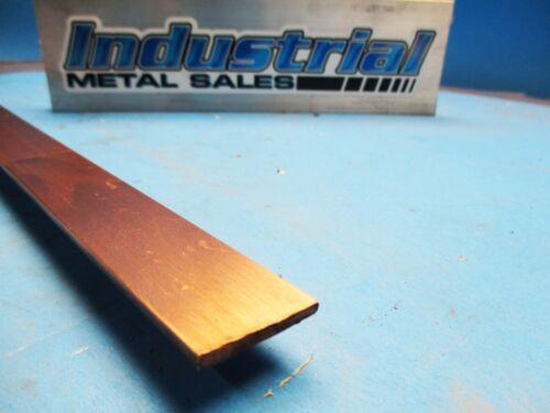 "110 Copper Flat Bar 1/8"" x 1"" x 12""-Long -->.125"" x 1"" Copper Bus Bar"