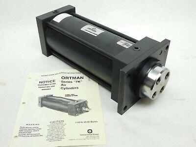 Ortman Fluid Power 7k B 5 Bore 10 Stroke Heavy Duty Pneumatic Air Cylinder Lv