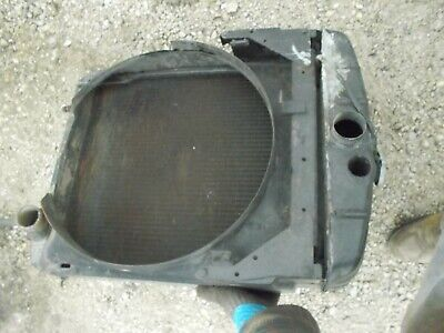 Farmall M Early Sm Ih Tractor Working Engine Motor Radiator Assembly Shroud