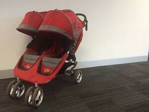 Baby Jogger City Mini Double Stroller Bundle Bonus! Albert Park Port Phillip Preview