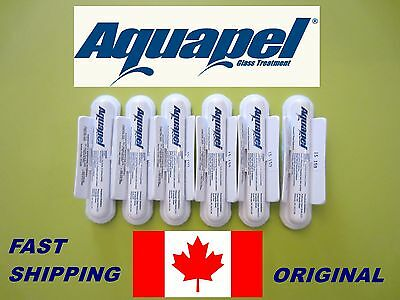 6 PACK AQUAPEL ,Windshield and Glass Applications (Original )