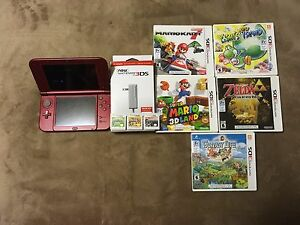 New Nintendo 3DS Xl W/ 8 Games - $300 OBO