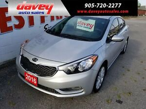2016 Kia Forte 1.8L LX+ SUNROOF, HEATED SEATS, BLUETOOTH