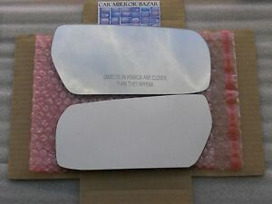 F124R - 2003-2007 CADILLAC CTS Mirror Glass Passenger Side Right + Adhesive Pad