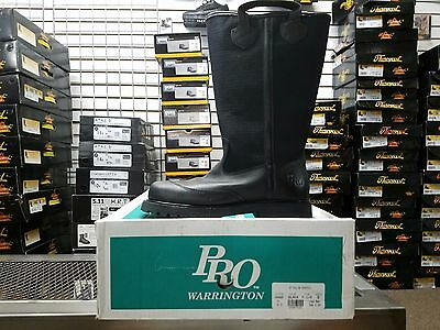 Pro Leather Fire Boots Model 4000 Nfpa 1971 2007 Edition Size 7.5d