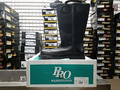 Pro Leather Fire Boots Model 4000 Nfpa 1971 2007 Edition Size 7.5e