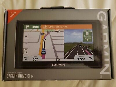 "Garmin Drive 61 EX 6"" Screen GPS Navigator - NEW!! 010-01679-09"