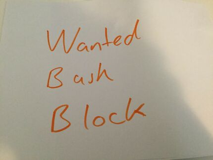 Wanted Bush Block, within 2 hours from Canberra Weston Weston Creek Preview