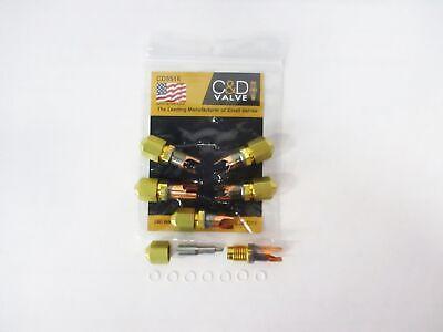 Cd Braze-on Self-piercing Copper Saddle Valve For 516 Tube Cd5516 Pkg Of 6